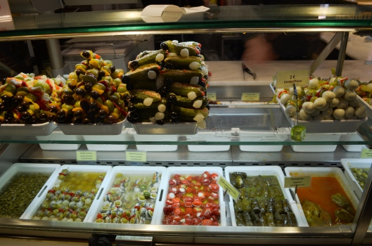 Cured Tapas in Madrid's Central Market