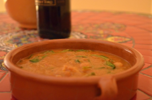 Moroccan Spiced Soup Dinner