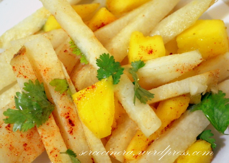 jicama mango