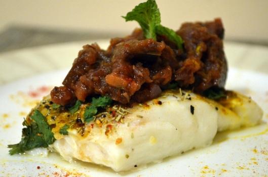 Eggplant Pomegranate Puree
