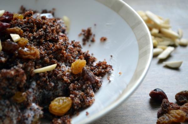 Warm and Nutty Cinnamon Kiwicha with Yogurt, Fruit & Honey | What's ...