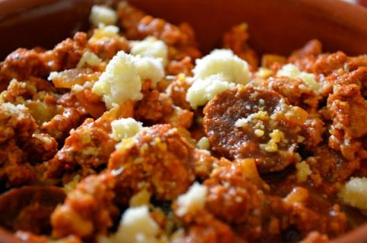 Pollo molido www.sercocinera.wordpress.com