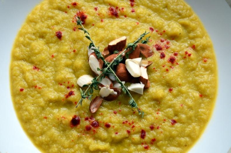Cauliflower Leek Soup www.sercocinera.wordpress.com What's Cooking