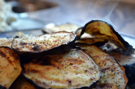 Barbequed Eggplant