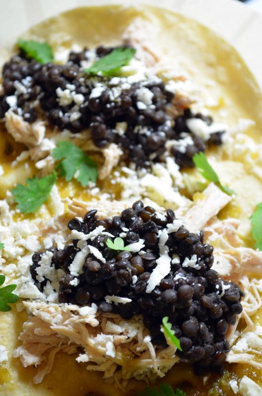 enchiladas verdes www.sercocinera.wordpress.com
