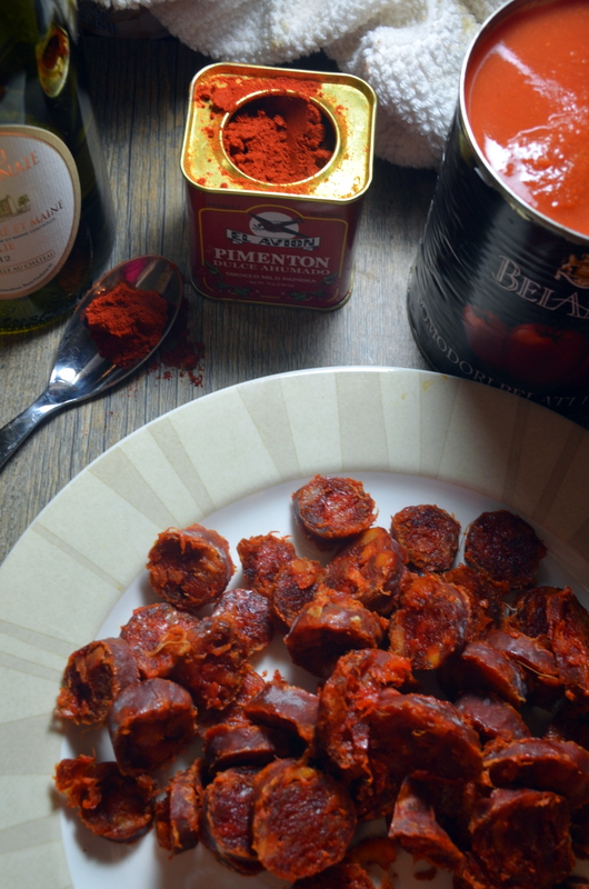 how to cook and serve chorizo