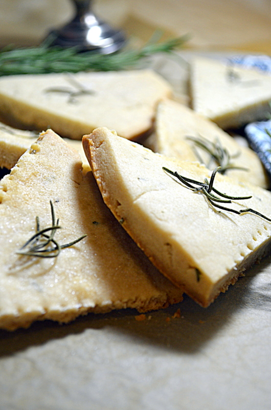 Savory Rosemary Cookies