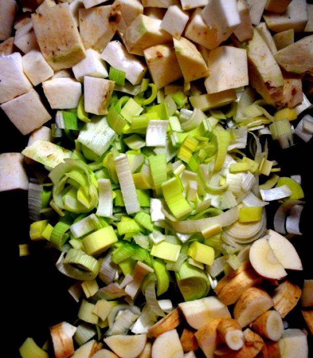 Celeriac Soup (www.sercocinera.wordpress.com)