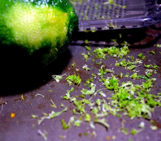 lime zest for kebabs