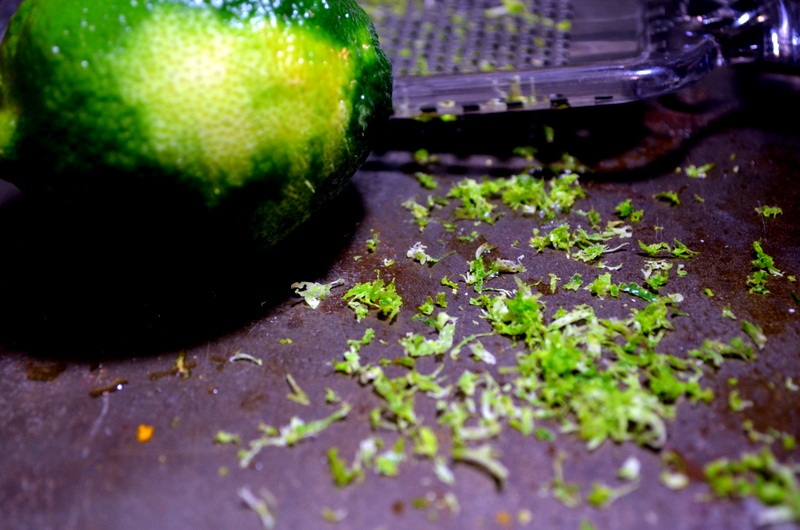 lime zest for kebabs