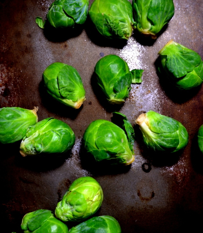 Momofuku's Roasted Brussels Sprouts