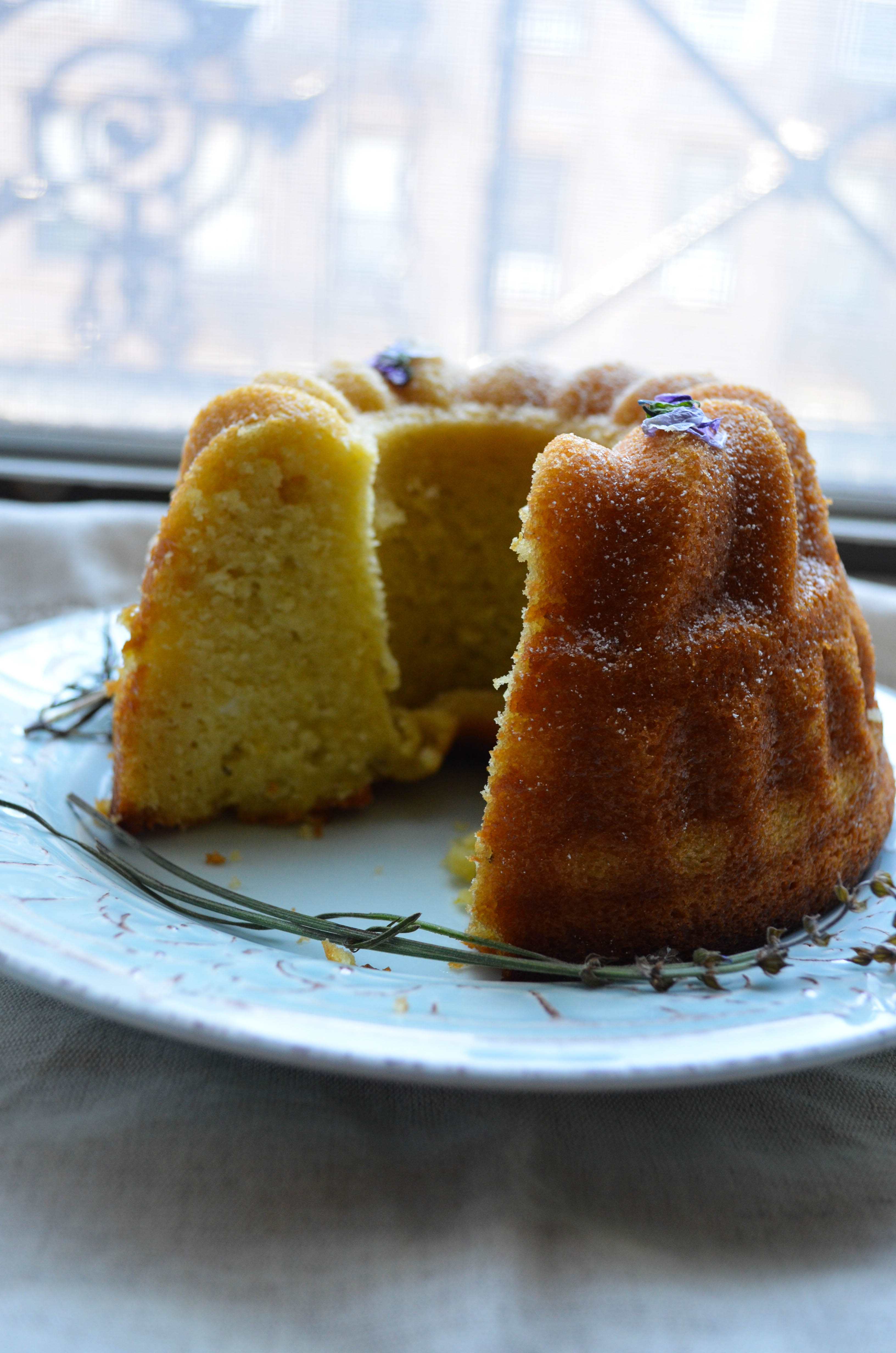 Olive Oil Cake with Lavender and Rosemary | What\'s Cooking